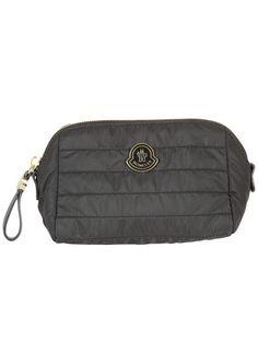 MONCLER Moncler Quilted Wash Bag. #moncler #bags # #