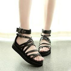 Buy 'ZD Shoes – Buckled Gladiator Flat Sandals' with Free International Shipping at YesStyle.com. Browse and shop for thousands of Asian fashion items from China and more!