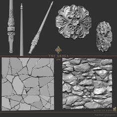 ArtStation - The Order - Sculpt, Hugo Beyer