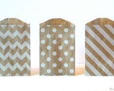 Bolsas de papel de embalaje bolsas de regalo boda Favor
