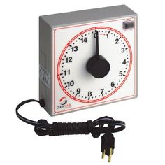 GraLab Model 255 Polycarbonate 15 Minute Food Service Timer, 7-1/2″ Length x 7-1/2″ Width x 2-1/2″ Height