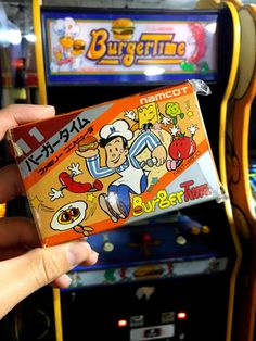 BurgerTime Famicom Cartridge  Image by djdac   Im so Retro