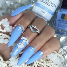 Fabulous designs for your prom nails are waiting for you here. See our collection, get inspired, and be ready to show them all who is the real beauty. Cute Nail Designs, Acrylic Nail Designs, Acrylic Nails, Acrylics, Prom Nails, Wedding Nails, Cute Nails, Pretty Nails, Pretty Toes