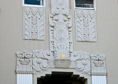 Architectural Detail: Allen Arms - 15 Hermann Street, San Francisco (built 1931) | Flickr - Photo Sharing!