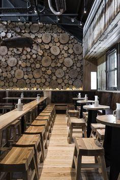 New Wall Design Restaurant Interiors Floors 19 Ideas