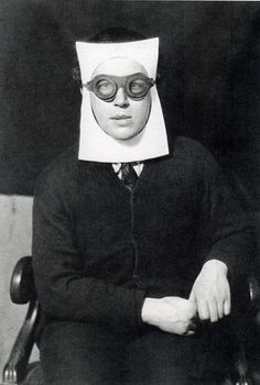 Andre Breton, The Pope of Surrealism (photograph by Man Ray).