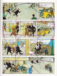 Tintin page layout