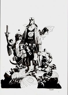 Hellboy Sourcebook And Roleplaying Game Cover | Mike Mignola