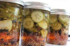 Spicy Beer Pickles