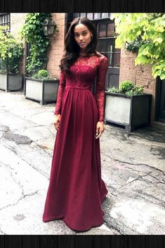 48 Best Burgundy Bridesmaid Dresses Long images  efc6cef92965