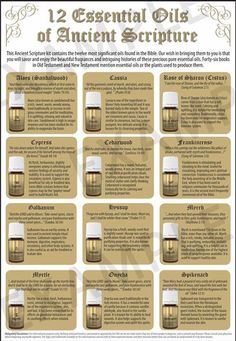 Save 24% off retail on the 12 Essential Oils of Ancient Scripture - www.EssentialOils4Sale.com