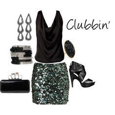 Clubbin', created by kford-636.polyvore.com