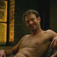 Matt Murdock grins as he tells Elektra how he explains all his scars to the girls he brings home.