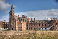 Barnes Hospital, Greater Manchester. | 14 Beautiful Abandoned Places In Britain