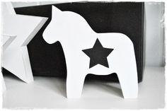 Dala Pferd mit Stern