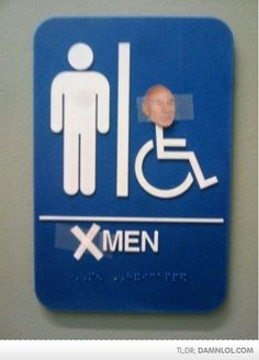 Did anyone else think Professor Charles Xavier was hot?