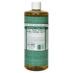 Dr. Bronner's Magic Soaps 18-in-1 Hemp Pure-Castile Soap Almond 16 fl oz