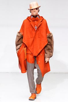 Menswear Trend for Autumn/Winter 2012: The Cape Effect