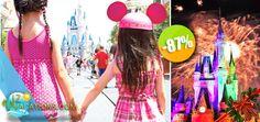 Orlando, Florida - $1,316 pesos en lugar de $10,100 por 1 Gran Promoción de Fin de Año con Vacaciones Inolvidables en Orlando + Actividades y Diversión para 4 Personas