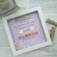 fathers day grandad gift for nana present for grandma mothers day