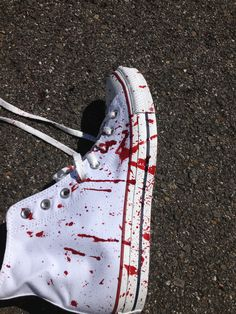 I made them with perma blood so they will always look wet and drippy :) Aesthetic Shoes, Aesthetic Indie, Aesthetic Clothes, Converse, Hot Shoes, Teen Fashion Outfits, Grunge Fashion, Custom Shoes, Me Too Shoes