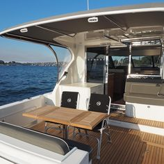 Perfect spot for a BBQ and a lazy afternoon on the harbour. Riviera 445 Call 02 9327 0000 for details. Motor Yachts, Boats For Sale, Luxury Living, Outdoor Furniture, Outdoor Decor, Lazy, Bbq, Entertaining, Home Decor