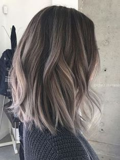 The ash brown hair color is a sister moodier of a warmer brunette appearance, perfect for any season provided you want to bring a little more to your brown hair. Many people use the rule that the c…