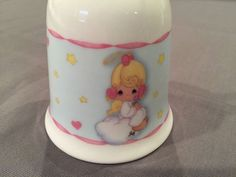 Precious Moments Porcelain Bell 2004 with Angel Hearts and Stars | eBay