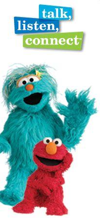 Sesame Street Deployment workshop for kids- very cute videos