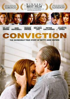 Rent Conviction starring Hilary Swank and Sam Rockwell on DVD and Blu-ray. Get unlimited DVD Movies & TV Shows delivered to your door with no late fees, ever. Best Movies List, Movie List, Great Movies, Netflix Movies, Movies Online, Love Movie, Movie Tv, Cinema Movies, Books