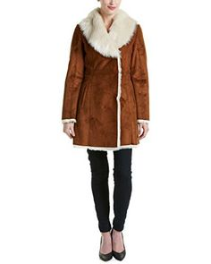 "An instar-glam winter essential, take cover with this faux shearling jacket from marc new York. This statement topper features a fixed hood and slit pockets for added storage.   	 		 			 				 					Famous Words of Inspiration...""People with many interests live, not only longest, but...  More details at https://jackets-lovers.bestselleroutlets.com/ladies-coats-jackets-vests/fur-faux-fur/product-review-for-marc-new-york-by-andrew-marc-womens-sarah/"