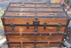 Steamer Trunk Up-cycle