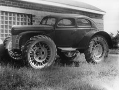 1940 Ford, modified by a Minnesota mail carrier. Far out dude .........D