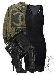 Untitled #2823 by breannamules ❤ liked on Polyvore featuring Haider Ackermann, Steve Madden and Giuseppe Zanotti