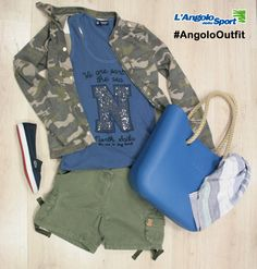 Canotta #NorthSails Giacca e shorts #PennRich Scarpe #Lacoste Borsa #Obag Pashmina #AngoloOutfit by Nilla Pastore