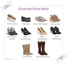 Wardrobe essentials: shoes