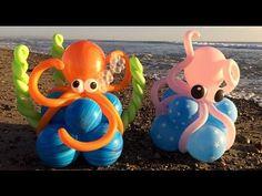 Octopus Balloon Decorations Tutorial! - YouTube