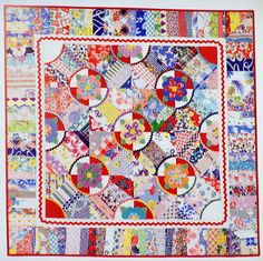 """Strippin In the Garden.  From """"Sugar Sack Quilts"""" and also featured in """"Sensational Small Quilts""""!"""