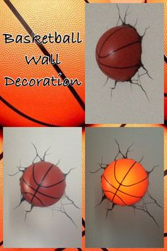 Basketball Wall Decoration!