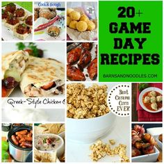 Best Superbowl Recipes