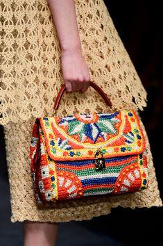 Dolce & Gabbana Spring 2013 - Details