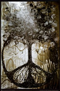 Yup, this will be my next tattoo for my back! Peace Signs Poster - David Wolcott Wilhelm (Tree of Peace)
