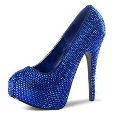 Bright Royal Blue Pumps with Rhinestones and 5.75 Inch Stiletto Heels Size: 6 Unknown http://www.amazon.com/dp/B00F99LGPU/ref=cm_sw_r_pi_dp_Qnxiub0YN6ZEH
