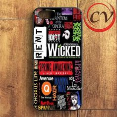 Broad Way Musical iPhone SE Case