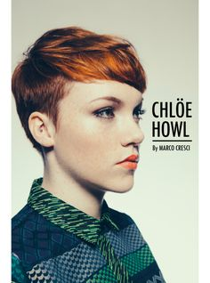Love to see pixie cuts in advertising.