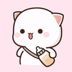 Simple Iphone Wallpaper, Cute Panda Wallpaper, Chibi Cat, Panda Wallpapers, Bunny And Bear, Cute Bears, Cute Images, Cute Stickers, Cute Cartoon