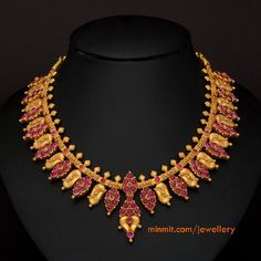 antique-ruby-gold-necklace