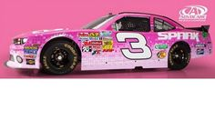 Clint bowyer 5 hour energy breast cancer awareness cool for Dirt track race car paint schemes
