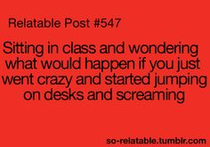 Lolol yes. I always think I'm crazy when I imagine this sort of thing, but I really do want to know...