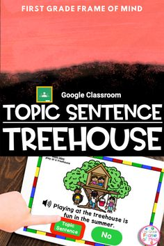 First graders need lots of practice with already written topic sentences. These are ready to go and perfect to use in a digital or in-person classroom. Vocabulary Strategies, Academic Vocabulary, Vocabulary Activities, Teaching Activities, First Grade Teachers, Parents As Teachers, Classroom Posters, Google Classroom, Topic Sentences